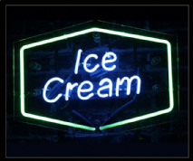 Ice Cream Neon Sign 1